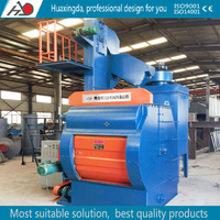 QTT1300 china manufacturer offer tilt drum type shot blasting cleaning equipment