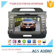 AGS special 7'' touch screen car dvd player for kia SPORTAGE