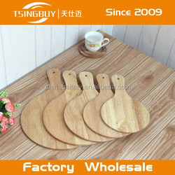 Hgh quality professional artisan100% natural wooden peel for bread making with handle