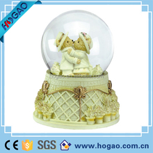 Musical Animated Snow Globe Princess Wedding Cake Rare Retired Excellent