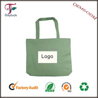 cotton shopping bag with long handle