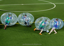 China bubble toy inflatable for kids 1.2/1.5/1.7m dia 1.0mm pvc/ptu human bubble ball