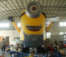 5.1M high Minions Despicable Me Figure inflatable cartoon\inflatable cartoon characters