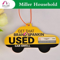 Good Smelling Smelly Scented Hanging Paper Car Air Freshener