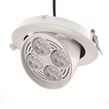 Anti-glare Design natural white spot led ceiling mounted downlight for commercail project