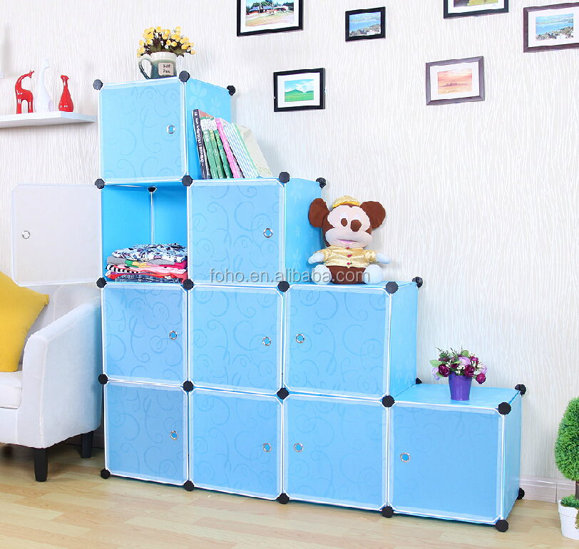 Amazing Diy Assembly Stackable Plastic Storage Cubes Fh-al0038-10 ...