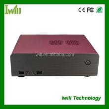 Mini itx desktop case MPC-HT70 flat computer case manufacturer