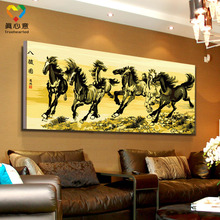 paintings of horses by famous artists 8 horses chinese painting horse art
