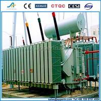 160 MVA 230 kv 3 phase oil immersed toroidal winding power transformer