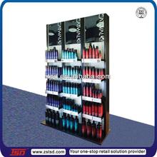 TSD-W121 Custom 4 tiers wood and acrylic department store display furniture,store kiosk,mdf display rack retail store design