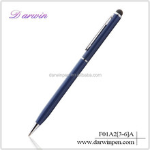 2 in 1 Metal And Silicone Cross Touch Screen Stylus Pen For Samsung Galaxy Tab