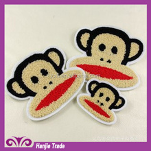 Mouth monkey paste cloth embroidered towels wholesale children's clothing accessories clothing accessories factory direct patch