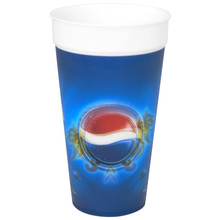 Single Wall 2015 Cheap 3D Lenticular Plastic Straw Cup