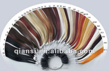 new color direct factory price wavy 100% human hair extension for women