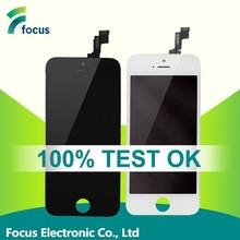 100% Original mobile phone for iphone 5s lcd touch screen