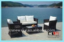 garden rattan lounge Zhejiang outdoor furniture sofa set best selling outdoor rattan garden furniture