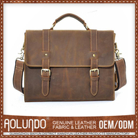 Affordable Price Leather Portable Briefcase