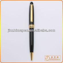 Twist metal small ballpoint pen