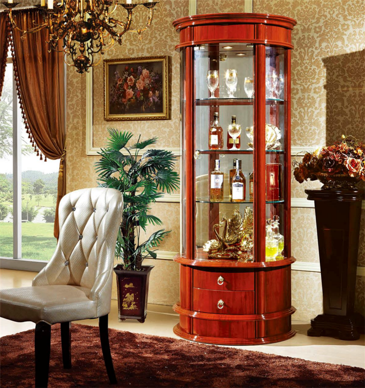 American Latest Wooden Furniture Living Room Glass Showcase Designs Buy High Quality Modern