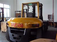 Japanese used TCM forklift 20ton, secondhand 20ton forklift TCM FD200, old/half new TCM forklift 20 ton for sale
