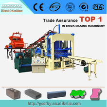machine for small business QT4-15 automatic colored paver block machine price