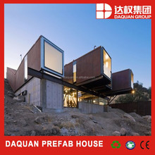 DAQUAN factory manufacture prefab luxury container house/ office/ workshop/ Store