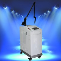 Q-switch Nd Yag laser pigment dispelling and tattoo removal device