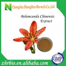 Natural GMP Certification Belamcanda Chinensis Extract 20:1