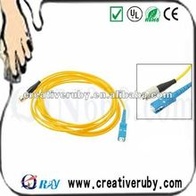 3 Meters Fiber Optic Patch Cord Odd Side Jack Cable Assembly