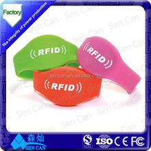 Hot Sale GYM membership card/wristband with 13.56MHz NFC chip