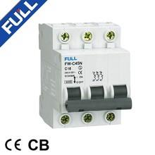 C45 20Amp MCB Miniature Electrical Circuit Breaker