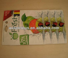 food grade Aluminum spout top bib bag in box with vitop for wine juice