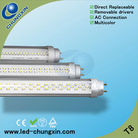 Good price Compatible AC connect SMD 3014/3528 CRI>80 PF>0.9 dc t8 12v led light tube