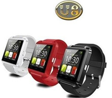 New Products For 2015 U8 Smart Watch Mobile Watch Phones for Android&IOS Iphone Samsung LG Sony