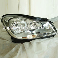 For Mercedes-Benz W204 C180 C200 230 C260 Head Lamp 2012-2013 Chrome Housing DB