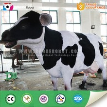 Realistic silicon rubber life size animal cow