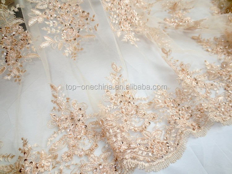 product china mesh fabric wedding dress cost