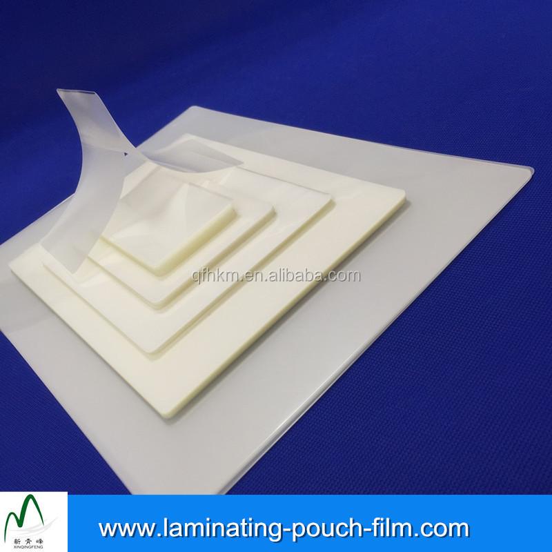 A4 A5 A6 A7 Tamaño de Película de Plástico Laminado Bolsas De Documento de Tarjeta de Cuadro
