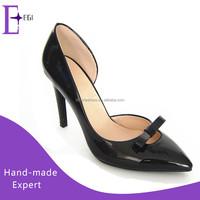 ladies sexy pencil 10cm high heel shoes