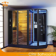 CRW AG0007 Infrared Steam Sauna Combination