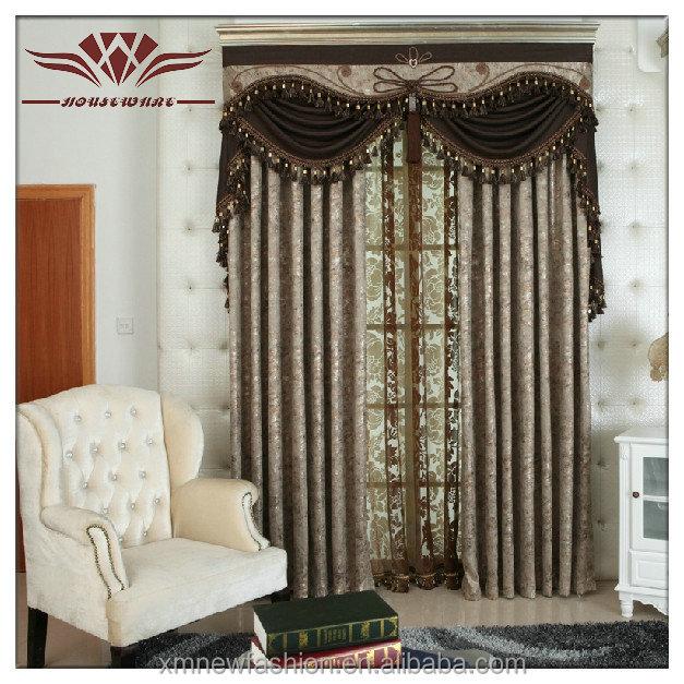Black out curtains elegant valance curtains beaded valance - Cortinas de cuentas ...