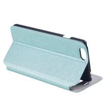 Custome grain leather mobile phone cover case for htc desire 600