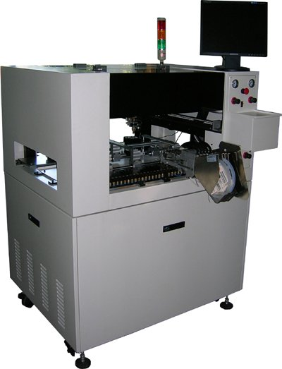 automatic and place machine