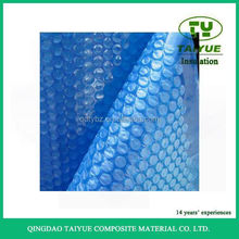 high quality Qingdao manufacture hard plastic swimming solar pool bubble cover