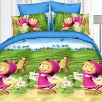 Zhuoya 3D cartoon bedding sets customizable bedding set high quality comforter bedding sets