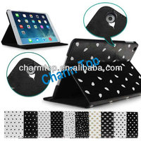 100% Brand New Leathe Flip Cover For iPad Air iPad 5