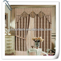 Opening-closing electric curtain box pleat valance