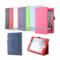 New Magnetic PU Leather Folio Stand Case Cover for iPad Mini