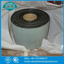 1.0mm thicknss self adsive bituminous sealing tape for buried pipe