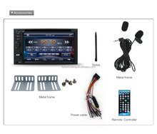 170X96 new design universal din car dvd players with BT/Radio/MP3 player